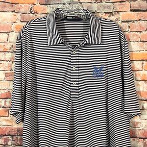 Ralph Lauren Men's Polo Shirt Striped XL VALHALLA